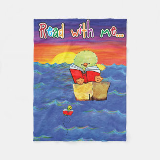 Read with Me...Simon and Lily sunset blanket