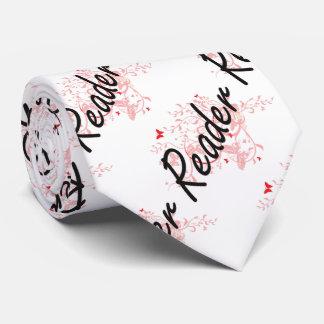 Reader Artistic Job Design with Butterflies Tie