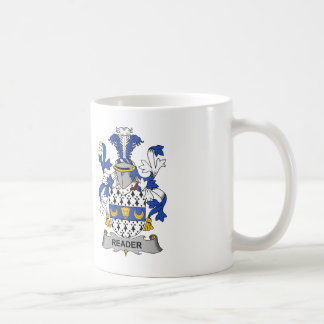 Reader Family Crest Coffee Mug