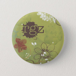 readergirlz button, Justina Chen Headley 2 Inch Round Button