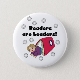 Readers Are Leaders 2 Inch Round Button