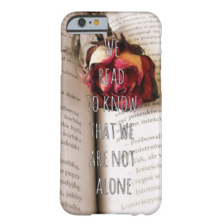 Readers/Book lovers Qoute iPhone 6 Case