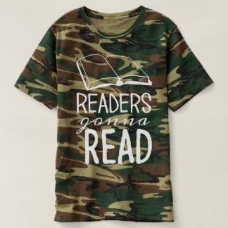 Readers Gonna Read Camo T-shirt