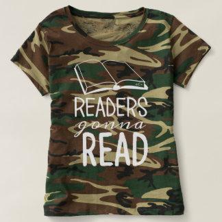 Readers Gonna Read - Women's Camo Shirt