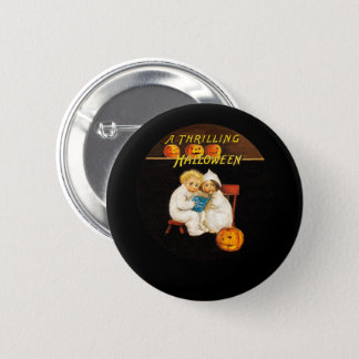 Reading a Scary Story 2 Inch Round Button