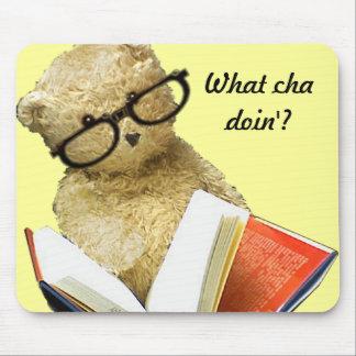 Reading Bear  - mousepad