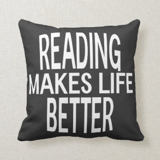 Reading Better Pillow - Assorted Styles & Colors