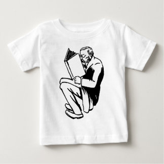 Reading Books Baby T-Shirt