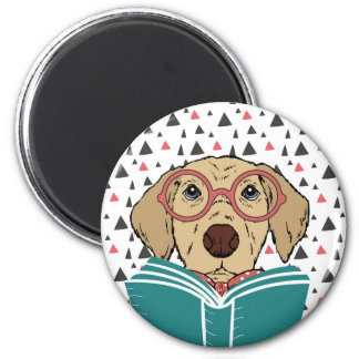 Reading Dog magnet