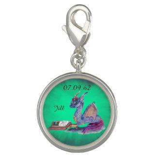 Reading Dragon Photo Charms