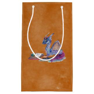 Reading Dragon Small Gift Bag