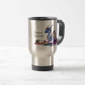 Reading  Dragon Travel Mug