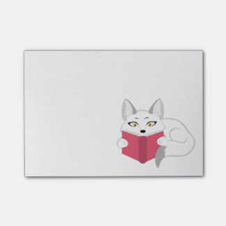 Reading Fox Post-it® Notes
