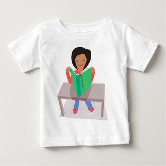 Reading Girl Baby T-Shirt