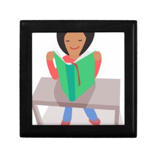 Reading Girl Gift Box