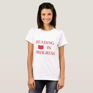 Reading In Progress T-Shirt
