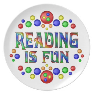 Reading is Fun Plate