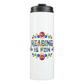 Reading is Fun Thermal Tumbler
