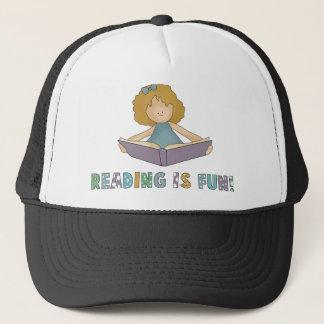 Reading Is Fun! Trucker Hat