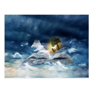 Reading is Heavenly - Customize Me! Postcard