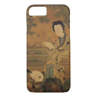 Reading Lady (Chinese Painting) iPhone 8/7 Case