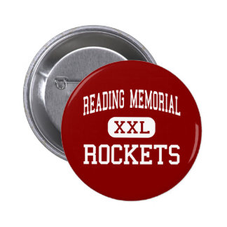 Reading Memorial - Rockets - High - Reading 2 Inch Round Button