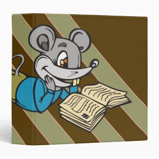 Reading Mouse Vinyl Binders