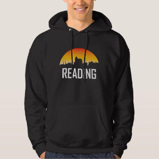 Reading Pennsylvania Sunset Skyline Hoodie