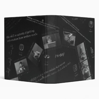 Reading Photogram 3 Ring Binders