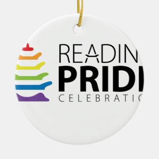 Reading Pride Ceramic Ornament
