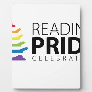 Reading Pride Plaque