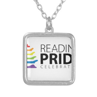 Reading Pride Silver Plated Necklace