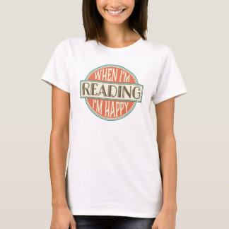 Reading Quote Book Club Reader Womens T-shirt
