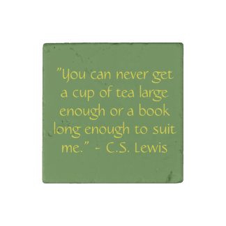 Reading Quote Magnet C.S. Lewis