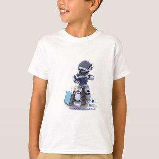reading robot child T-Shirt