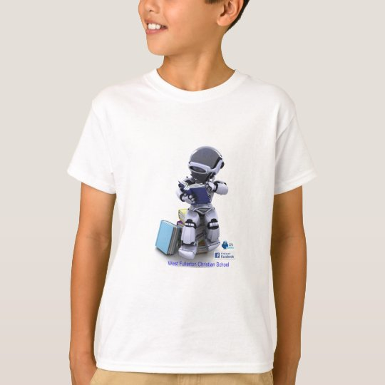 reading robot child T-Shirt