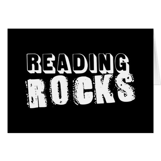 Reading Rocks Cards