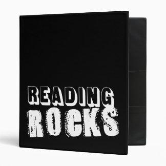 Reading Rocks Personalized Binder