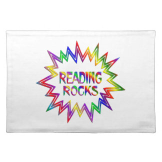 Reading Rocks Placemat