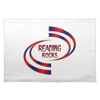 Reading Rocks Placemat