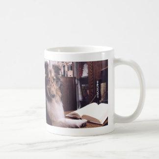 Reading Sheltie Mug