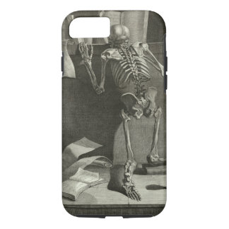 Reading Skeleton Case-Mate iPhone Case