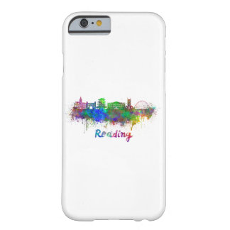 Reading skyline in watercolor barely there iPhone 6 case