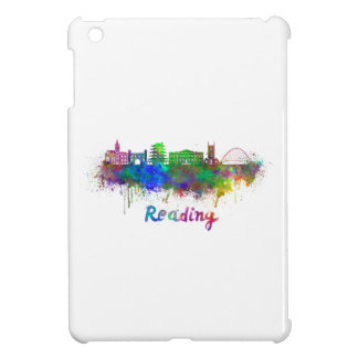 Reading skyline in watercolor iPad mini cases