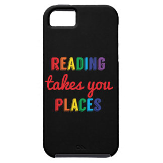 Reading Takes You Places, Love Reading iPhone 5 Case