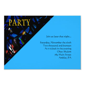READING THE TORAH Bar Bat Mitzvah Party Card