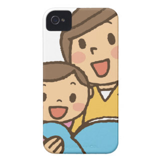 Reading Together iPhone 4 Cover