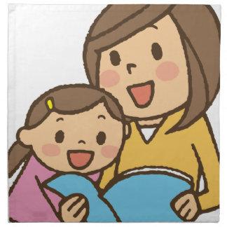 Reading Together Napkin