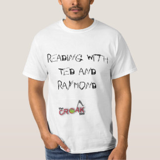 Reading with Ted and Raymond (Motorcycle) T-Shirt