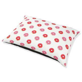 Reads for dog - Donuts Pink/Rouge Pet Bed